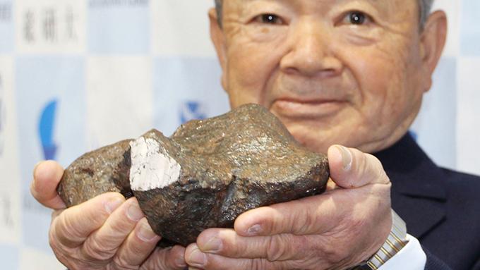 14年ぶりの隕石発見 日本と隕石はながーいお付き合い⁉