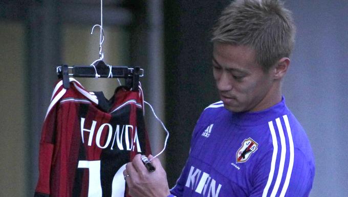 サッカー日本代表・本田 ACミラン時代、現地で受けた辛辣なコメントとは?
