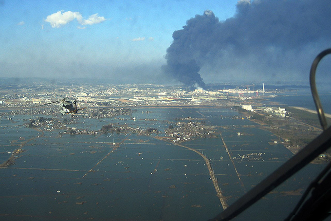 東日本大震災 津波 浸水 宮城県 仙台市 宮城野区 沿岸 津波 火災
