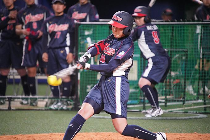 大垣ミナモ バッター 平川 選手