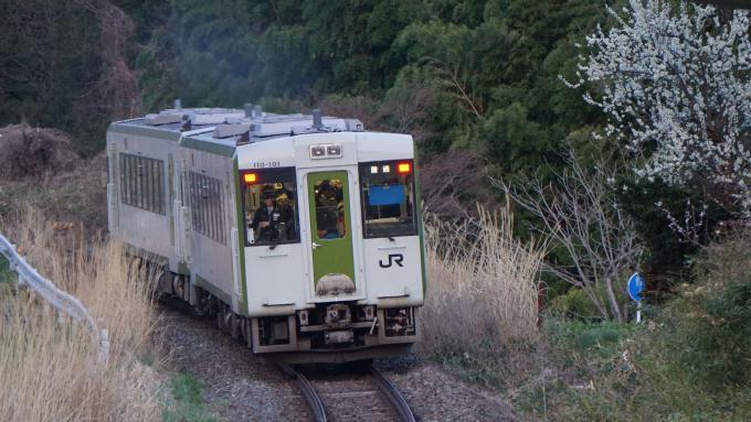 キハ110系 普通列車 磐越東線 三春 要田