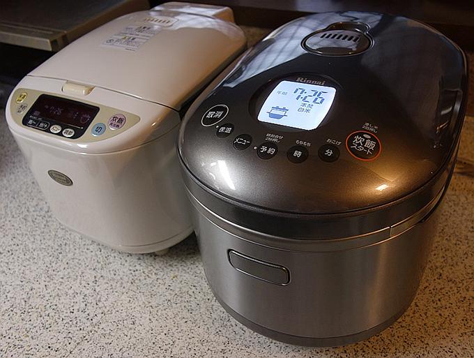 ガス 炊飯器 家庭