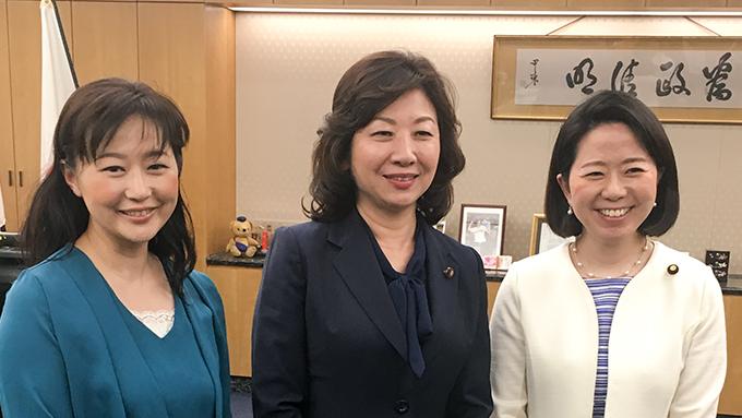 野田聖子総務大臣が語る「女性の働き方」 子供を産んで気づいた生産性が向上する働き方