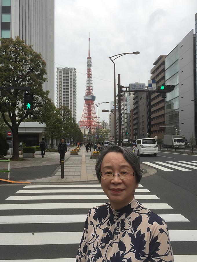 カメラ 東京タワー 家族