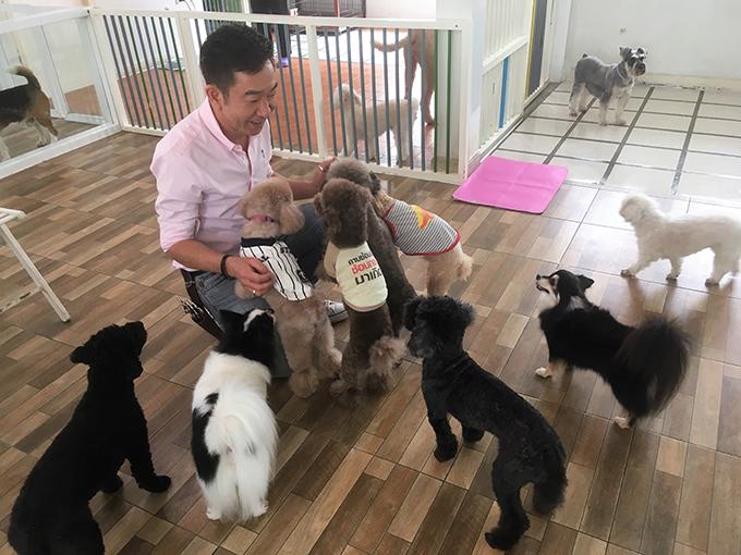 二川広昭 ASILO Pet Spa and Hotel 愛犬 イヌ 犬 いぬ ワンちゃん わんちゃん ペットホテル 仲良し