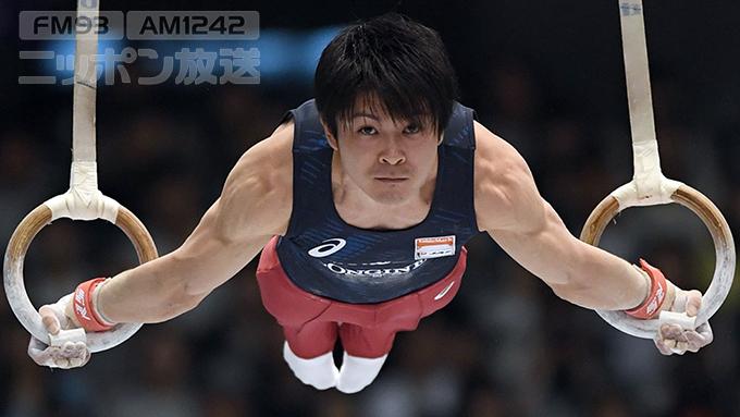 体操男子・内村 「これで東京オリンピックにつながった」