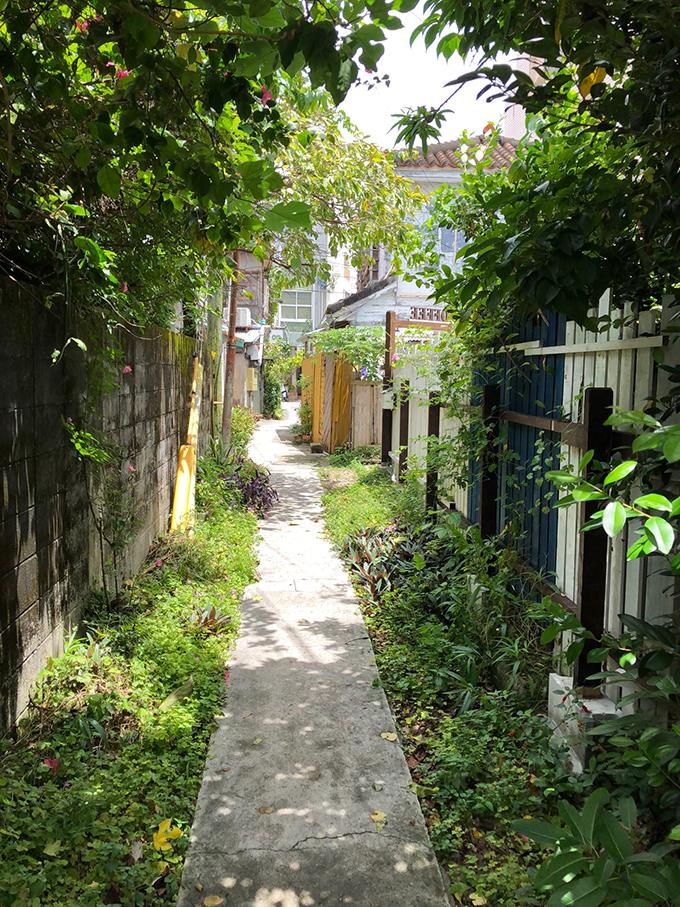 素敵 裏路地 沖縄