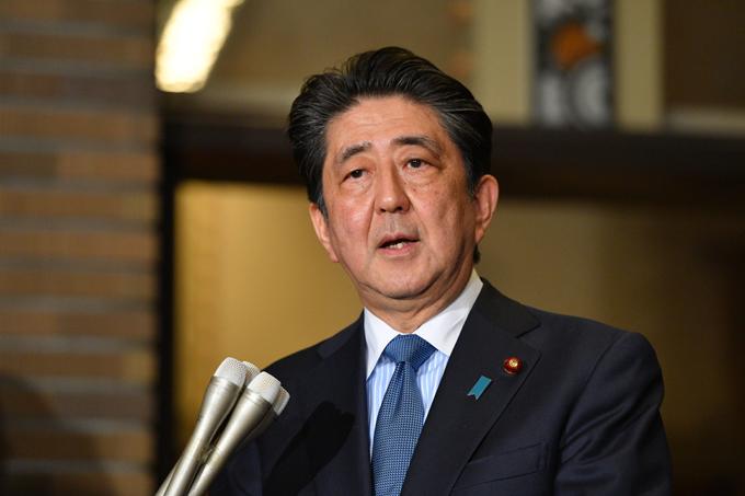 安倍 晋三 首相 トランプ 米 大統領 電話 会談