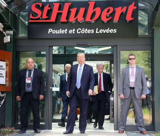 G7 サミット トランプ 米 大統領 カナダ シャルルボワ