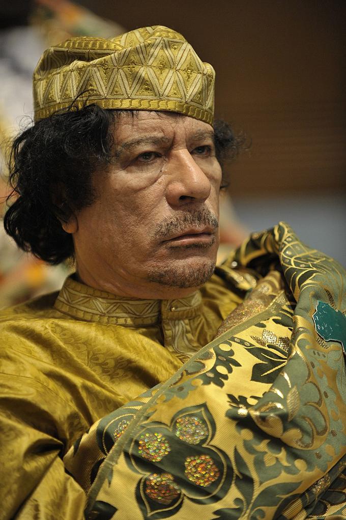 ムアンマル アル カッザーフィー アフリカ 連合 サミット