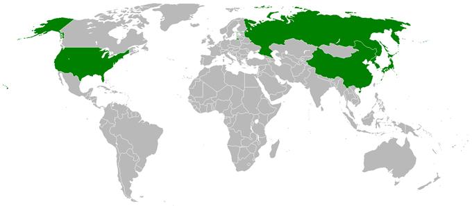 六者会合 六者協議 参加国