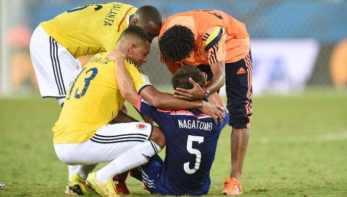 サッカー日本代表・長友佑都とグアリン ピッチの上の友情