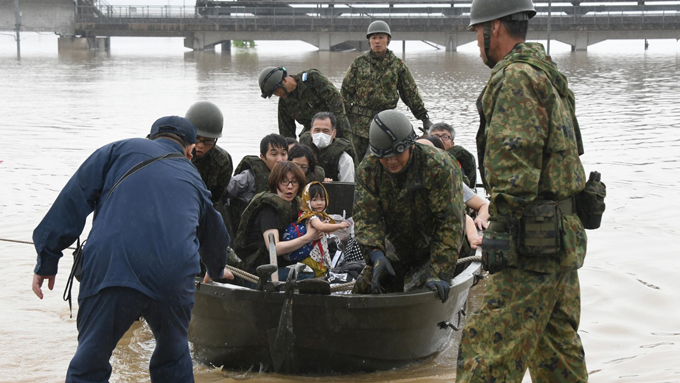 西日本豪雨~小田川の堤防が決壊した岡山県倉敷市真備町の現在の被害状況