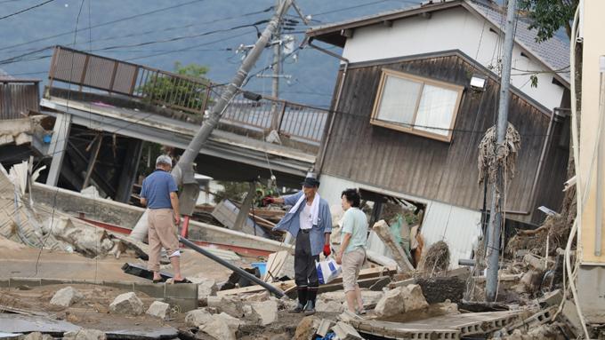 総理がEPA署名よりも豪雨被害対応を選ばざるを得ない体制に疑問