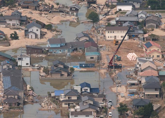 西日本 豪雨 被害 浸水 倉敷市 真備町 有井地区 岡山県 倉敷市 真備町