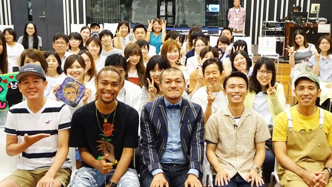 番組初の公開収録!ゲストはEXILE NESMIT・お笑い芸人のカミナリ!