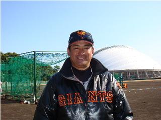大道さん巨人ユニフォーム.JPG