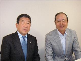 生目の杜にて王会長と.JPG