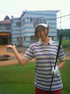 ゴルフ場到着