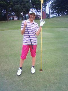 ゴルフ最後