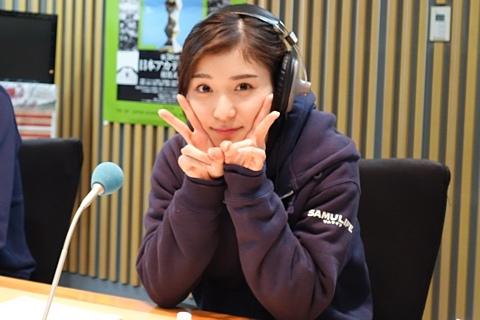 ラジオパーソナリティーも務める松岡茉優