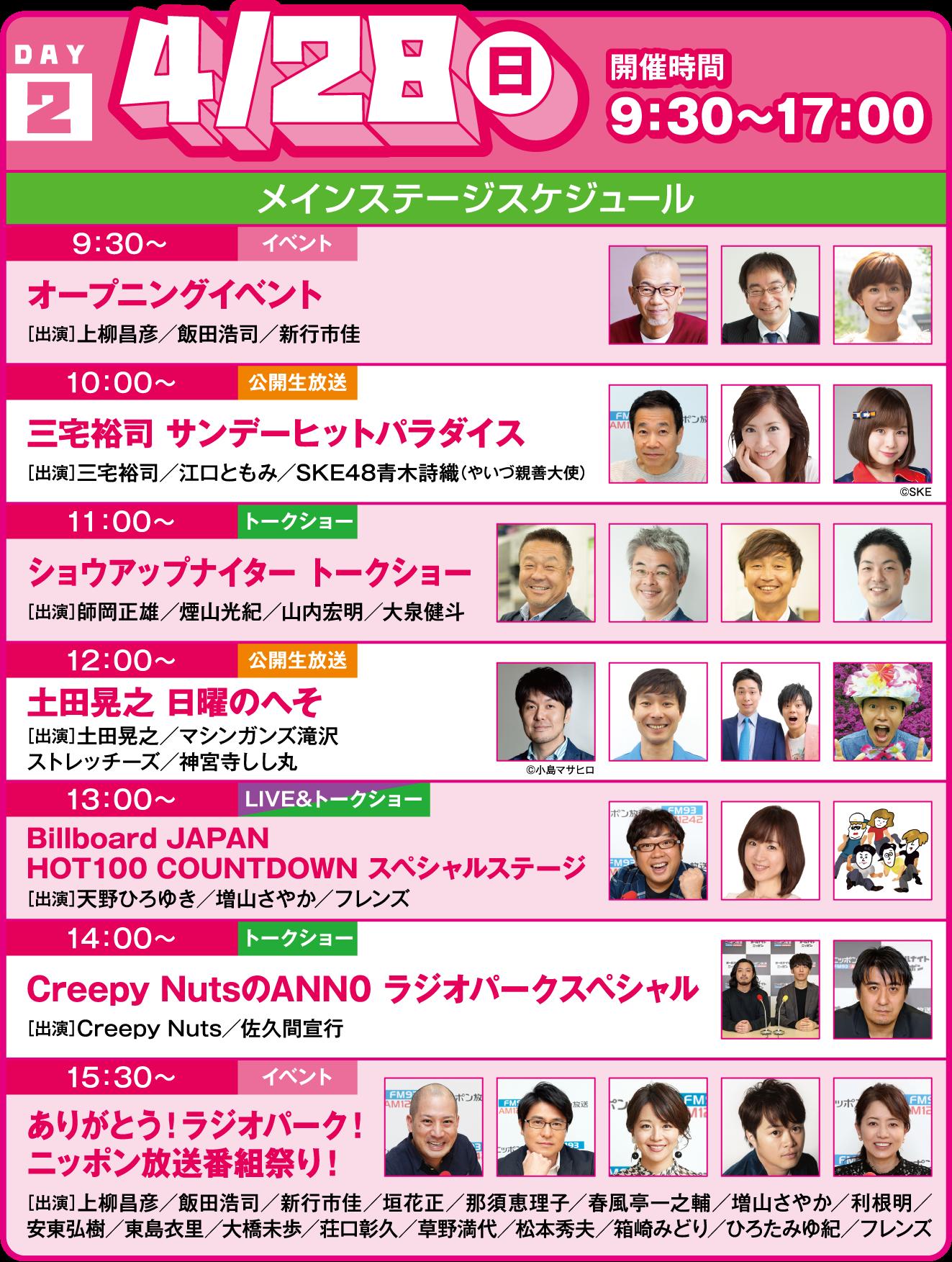 ニッポン放送 ラジオパーク in 日比谷 2019 | ニッポン放送 ラジオ ...