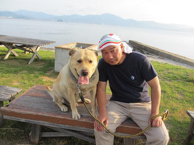 木村さんとペロ(w680)