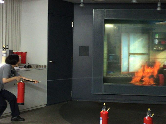 消火コーナー