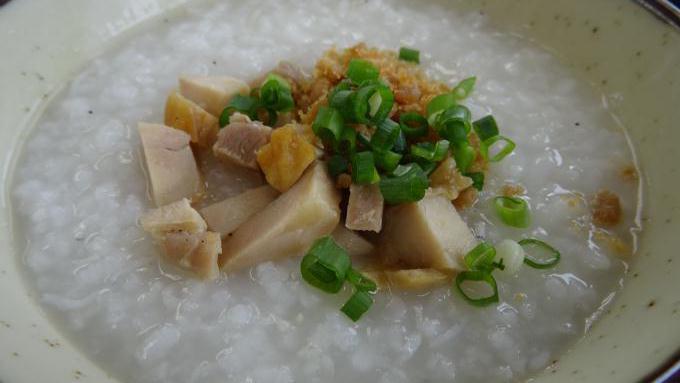 上州の朝がゆ+鶏めし弁当