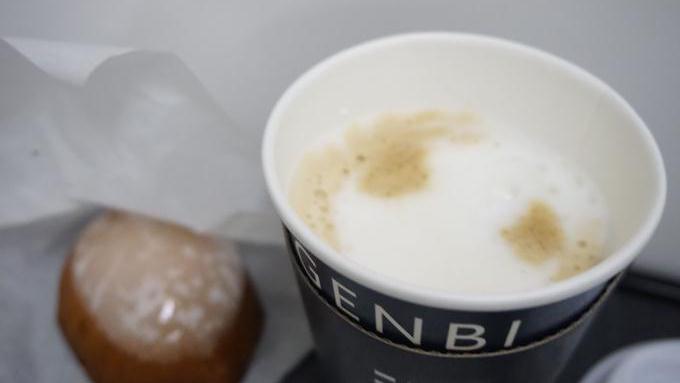 ツバメコーヒー・カフェラテ&佐渡クリームチーズのレモンケーキ