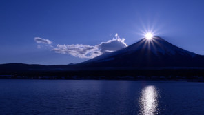 今月、関東でダイヤモンド富士の見られる場所をピンポイントで紹介!【本仮屋ユイカ 笑顔のココロエ】