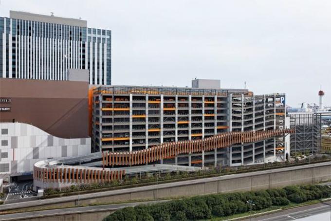 「ダイバーシティ東京プラザ駐車場特設コース」外観(w680)-2