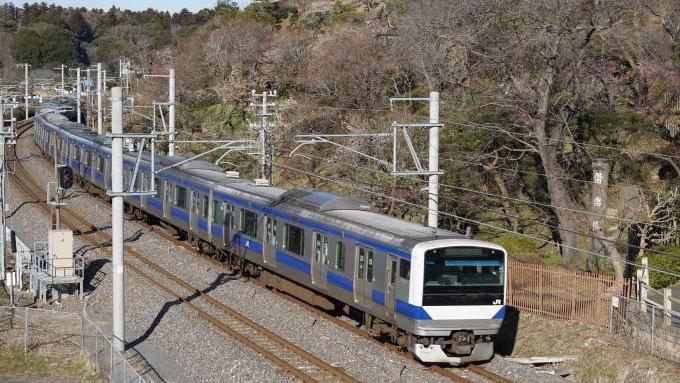 E531系電車、常磐線・赤塚~水戸間