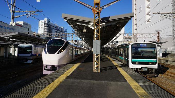 左からE531系、E657系、E501系