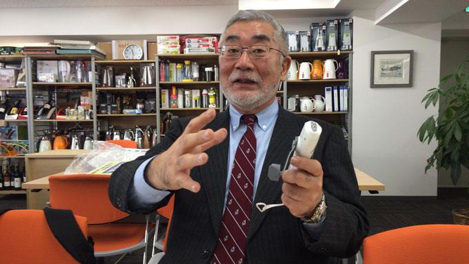 株式会社メテックス代表取締役田中廣