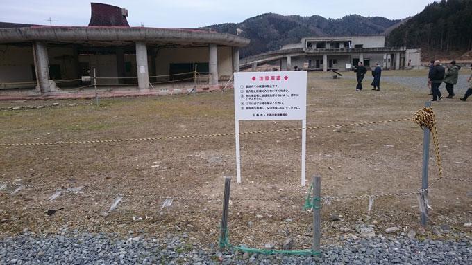 大川小学校跡地