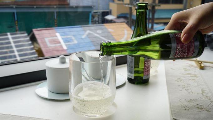 あおもりシードルで乾杯!
