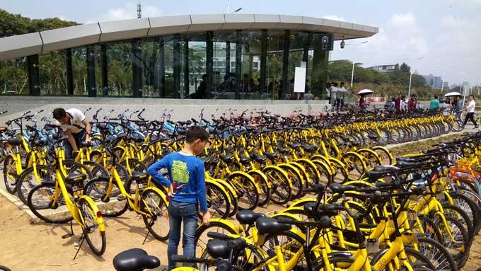 中国で大流行の自転車シェアリングサービスが日本上陸?高嶋ひでたけのあさラジ!