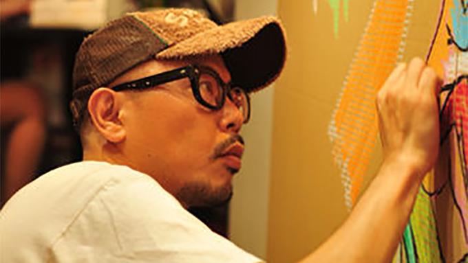 手話をモチーフに絵を描き続けるアーティスト【10時のグッとストーリー】
