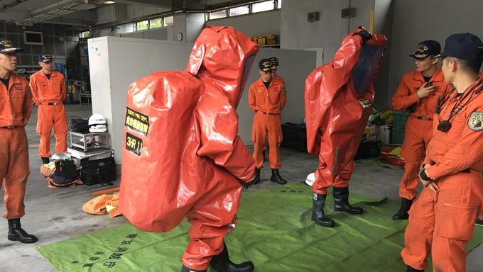 福島第一原発での防護服に10kg酸素ボンベ【新人記者あいばゆうな取材記】