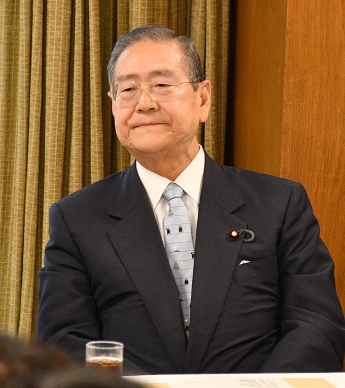 野田毅氏が自民党内で勉強会~石...