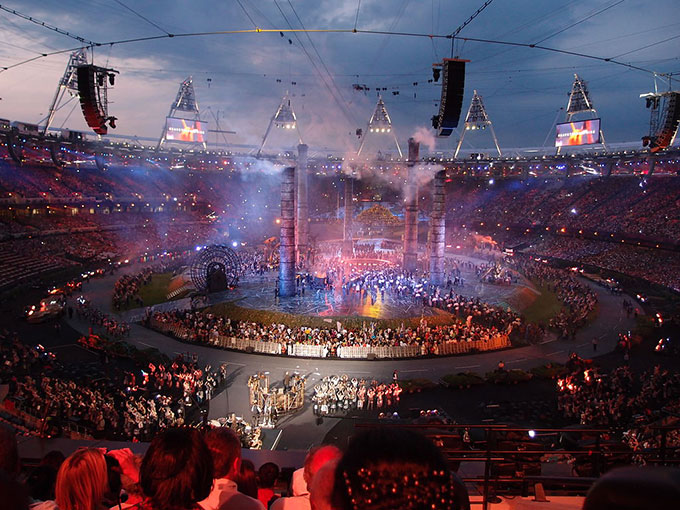 2012年ロンドンオリンピック開会式
