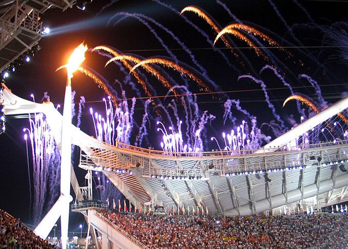 アテネオリンピック開会式