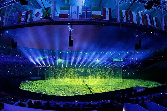 リオデジャネイロオリンピック開会式