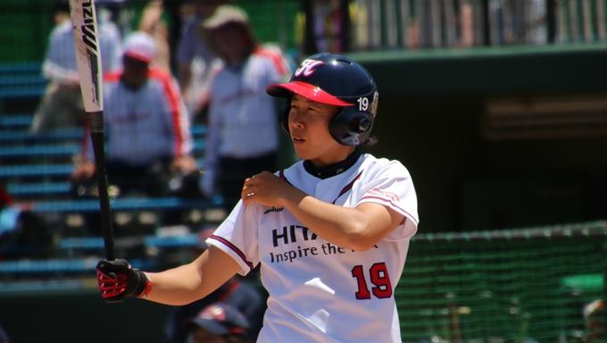 5敗しているし残り全勝する意気込みで日立サンディーバ山田恵里選手【女子ソフトボールリーグ】