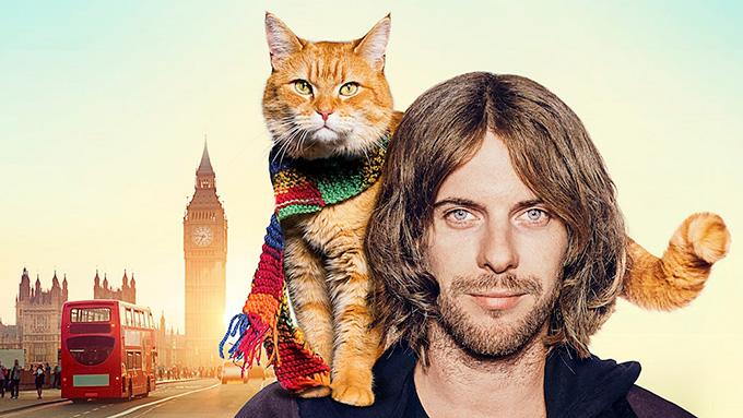 キャサリン妃もメロメロ、薬物中毒青年×野良猫による奇跡の実話『ボブという名の猫 幸せのハイタッチ』