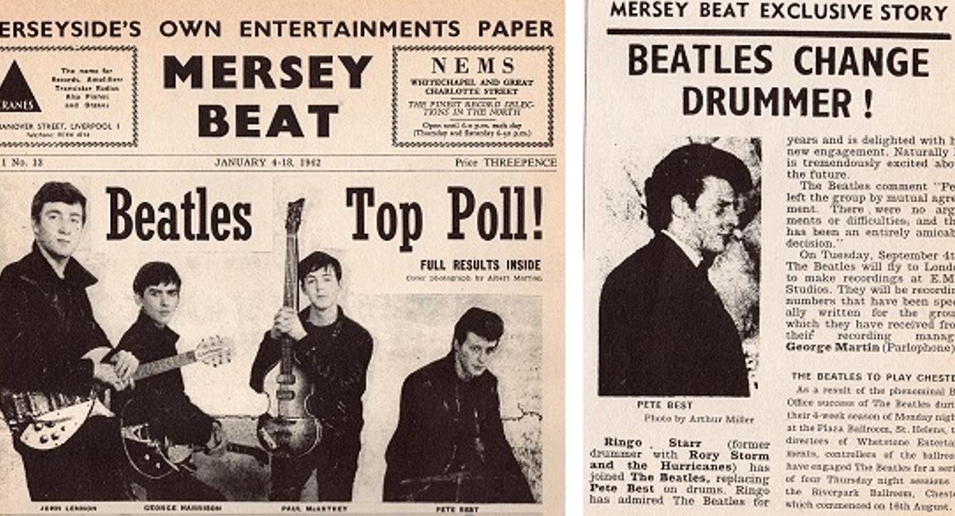 1962/8/16、ビートルズのドラマーがピート・ベストからリンゴ・スターに代わった「歴史的」な日【大人のMusic Calendar】