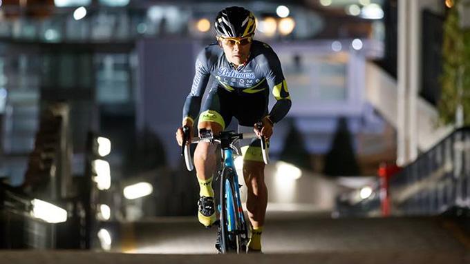 自転車好き・吉田アナが気になる自転車イベント・ダイバーシティ東京ビルクライム2017開催!