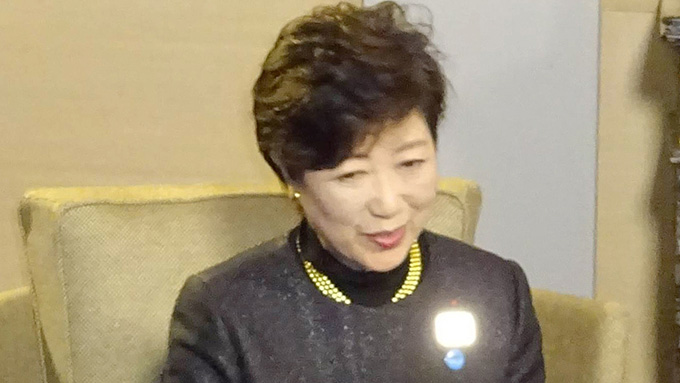 小池代表~改めて希望の党・代表辞任を否定