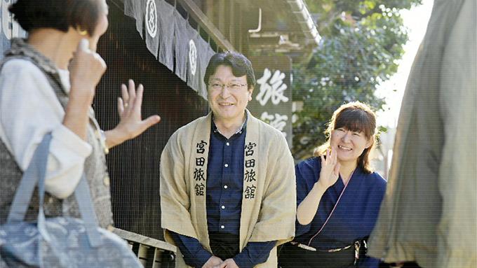 富山にUターンして創業200年の老舗旅館を守る旅館の若主人のストーリー